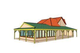 Étkező új tetőszerkezet, 2012