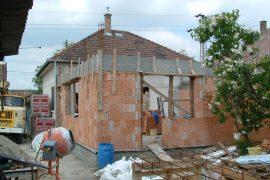 Családi ház bővítése, 2005